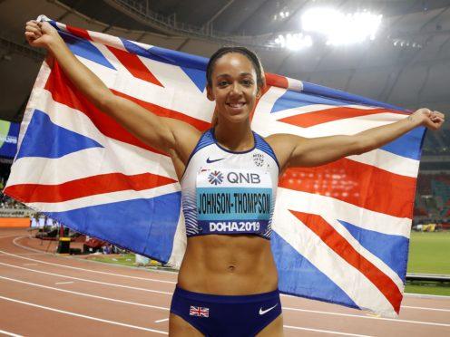 Katarina Johnson-Thompson will be among the favourites at the rearranged Olympics this summer (Martin Rickett/PA)