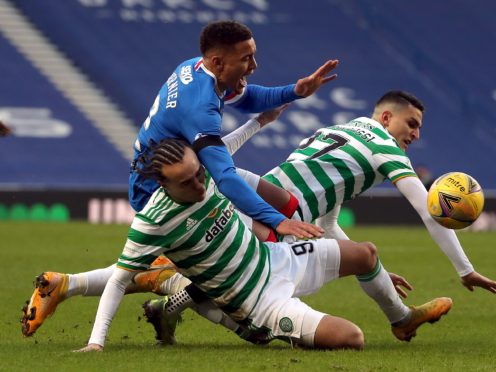Rangers and Celtic are scheduled to meet on Sunday (Andrew Milligan/PA)
