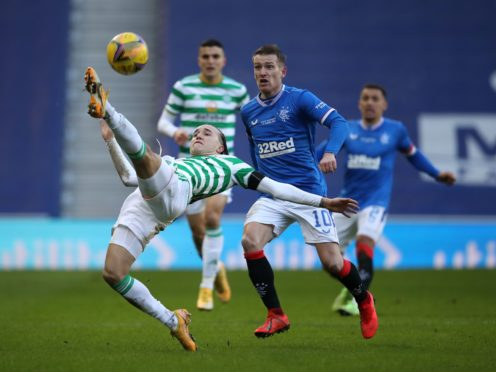 Rangers will travel to Celtic Park (Andrew Milligan/PA)