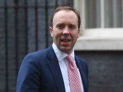 Matt Hancock has been warned not to take 'excessive' powers over NHS England (Victoria Jones/PA)