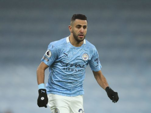 Manchester City's Riyad Mahrez was the victim of fraud (Clive Brunskill/PA)