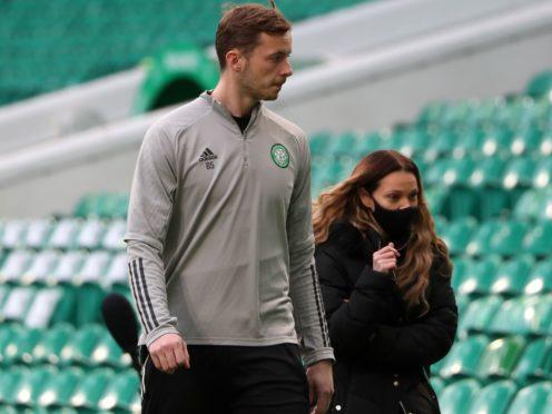 Conor Hazard confident of improvement at Celtic (Andrew Milligan/PA)
