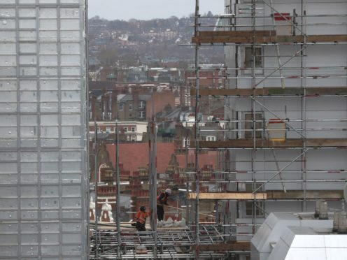 Taylor Wimpey announced a £125m fund to remove unsafe cladding (Jonathan Brady/PA)