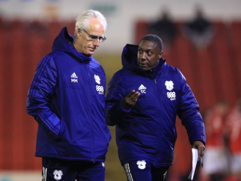 Mick McCarthy, left, and Terry Connor have transformed Cardiff (Mike Egerton/PA)