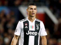 Could Cristiano Ronaldo leave Juventus this summer? (Martin Rickett/PA)