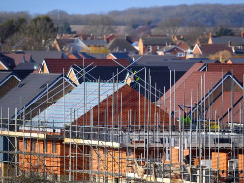 Housebuilder Vistry has said it will more than double profits in 2021 (PA)