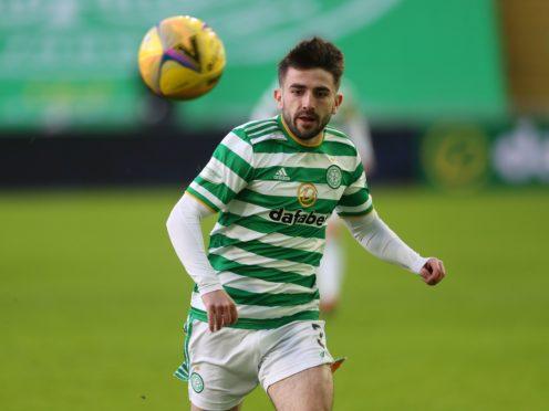 Celtic defender Greg Taylor has returned to training (Andrew Milligan/PA)