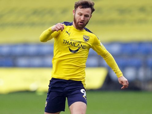 Matty Taylor helped Oxford to a comfortable win (Tess Derry/PA)