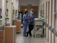 A UK-wide study is being launched to try to help people who have complications after a hospital stay with Covid-19 (Andrew Milligan/PA)