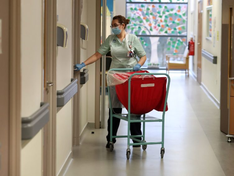 Hospital visits can restart from April 26, Scotland's Health Secretary has announced (Andrew Milligan/PA)