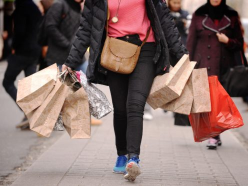 Shop prices slid lower in February (Dominic Lipinski/PA)