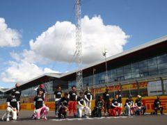 Formula One will promote its WeRaceAsOne initiative this season (FIA Pool/PA)