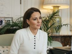 The youngest woman to row solo across an ocean has told the Duchess of Cambridge she hopes her feat changes perspectives around what women can achieve (Kensington Palace/PA)