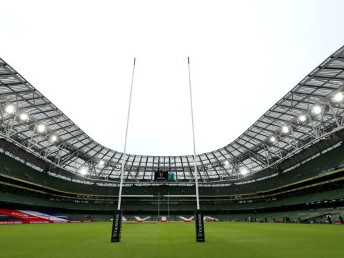 Ireland and England clash behind closed doors at the Aviva Stadium, Brian Lawless/PA