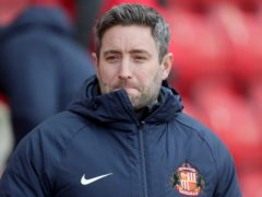 Lee Johnson was appointed as Sunderland boss in early December (Richard Sellers/PA)