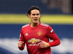Edinson Cavani believes Manchester United will not have to wait long to lift a trophy (Naomi Baker/PA)