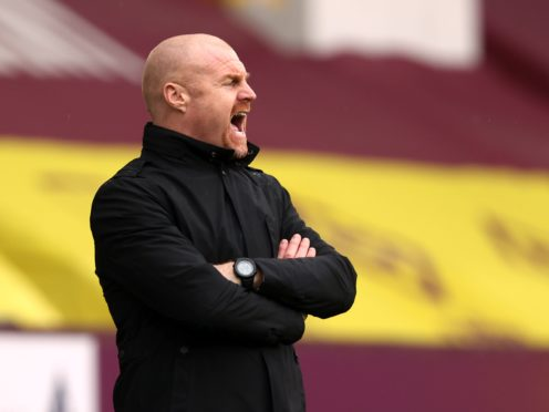 Sean Dyche said he had no problem with Burnley's critics after their defeat at Tottenham (Clive Brunskill/PA)