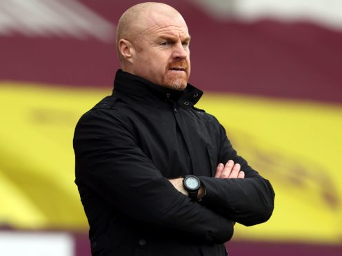 Sean Dyche's strikers have given him plenty to think about before the weekend (Clive Brunskill/PA)