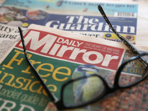 The publisher will pay out £9.3 million in severance to staff it made redundant last year (Andrew Matthews/PA)