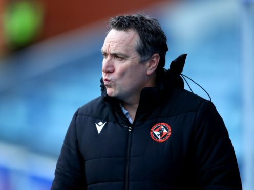 Dundee United manager Micky Mellon is not overly concerned with the upheaval at Aberdeen (Jane Barlow/PA)