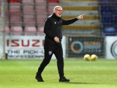 Ross County manager John Hughes wants his players to view the St Johnstone game as a challenge (Jeff Holmes/PA)