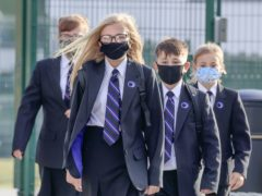 Around 87% of secondary pupils were in school on March 25, a fall on March 18 when 89% attended (Danny Lawson/PA)