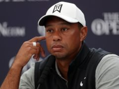 Tiger Woods was involved in a car crash on February 23 (Richard Sellers/PA)