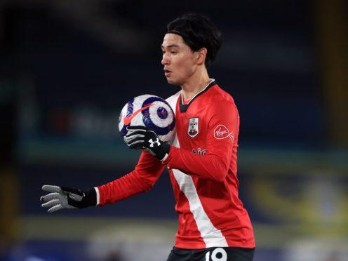 Southampton forward Takumi Minamino is one of several players set to be away on international duty (Mike Egerton/PA)