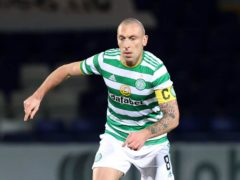 Celtic captain Scott Brown will join Aberdeen as player/coach in the summer (Jeff Holmes/PA).