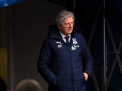 Roy Hodgson is close to securing Crystal Palace an eighth consecutive season in the Premier League (Glyn Kirk/PA)