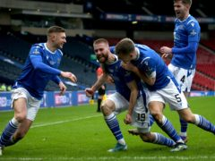 St Johnstone's Shaun Rooney is doubtful (PA)