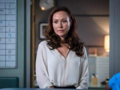Amanda Mealing is taking a break from Casualty after seven years playing Connie Beauchamp on the medical drama (Alistair Heap/BBC/PA)