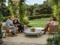 The Duke and Duchess of Sussex discussed their family life with Oprah Winfrey during the tell-all TV interview (Harpo Productions /Joe Pugliese/PA)