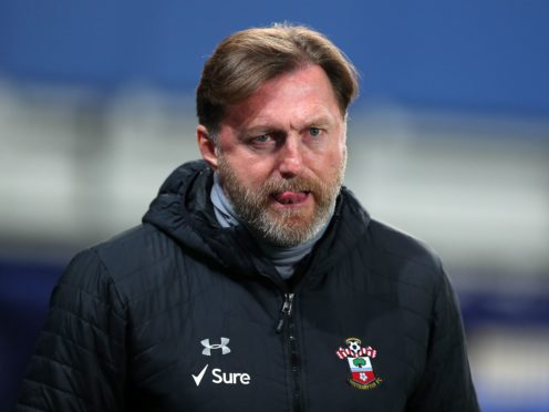 Ralph Hasenhuttl does not want to lose any players (Peter Byrne/PA)