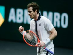Andy Murray will face Andrey Rublev in Rotterdam on Wednesday (Peter Dejong/AP)