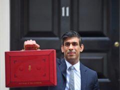 Chancellor Rishi Sunak sets off to make his Budget statement (Victoria Jones/PA)
