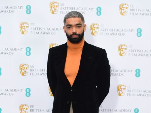 Kingsley Ben-Adir at the BAFTA EE Rising Star Award 2021 nominees announcement at The Savoy, Strand, London. Picture date: Wednesday March 3, 2021.