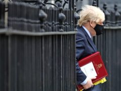 Prime Minister Boris Johnson (Aaron Chown/PA)