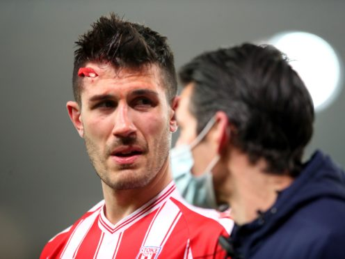 Danny Batth is a doubt for Stoke this weekend (Nick Potts/PA)
