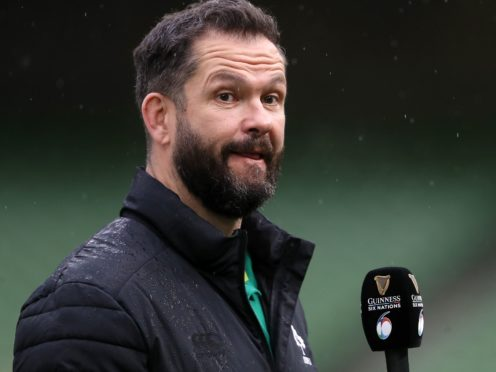 Ireland head coach Andy Farrell is preparing for England's visit to Dublin (Brian Lawless/PA)