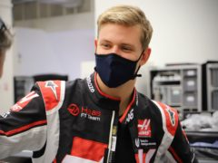 Mick Schumacher is making his Formula One debut in Bahrain this weekend (Haas F1 team/PA Media)