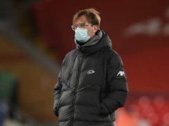 Jurgen Klopp took the blame for Liverpool's defeat (Oli Scarff/PA)