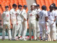 Ben Stokes inspired England on the second day (AP Photo/Aijaz Rahi)