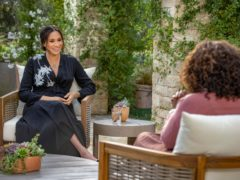 """The Duchess of Sussex defends her """"basic right to privacy"""" in newly released unseen footage from her explosive interview with Oprah Winfrey. Joe Pugliese/Harpo Productions"""
