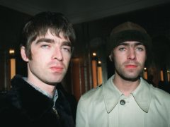 Liam, right, and Noel Gallagher pictured in August 1996 (PA)