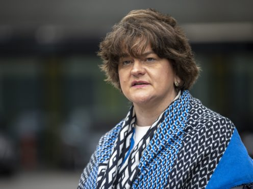 Those who favour aborting babies with Downs Syndrome are entering the realm of eugenics, DUP leader Arlene Foster said (Liam McBurney/PA)