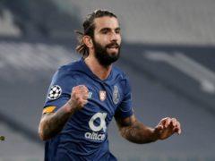 Sergio Oliveira scored twice to help Porto knock Juventus out of the Champions League. (Luca Bruno/AP)