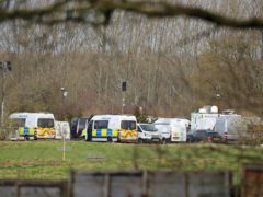 Prime Minister Boris Johnson said he was 'shocked and deeply saddened' after human remains were discovered in the search for Sarah Everard (Gareth Fuller/PA)