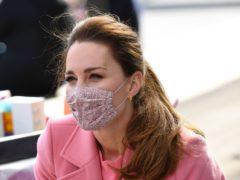 The Duchess of Cambridge (Justin Tallis/PA)