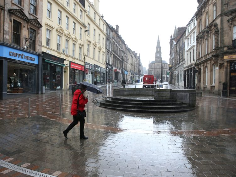 The pandemic has been hard on Scotland's town centres (Andrew Milligan/PA)